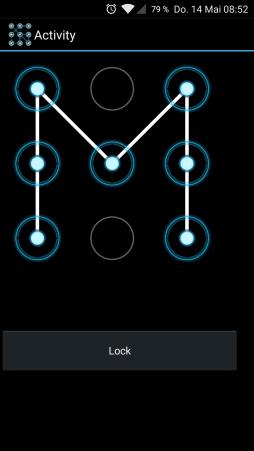 手势锁屏库Lock9View V1.0.2 - 沉默蜂 - 沉默蜂B4A安卓编程实战资料