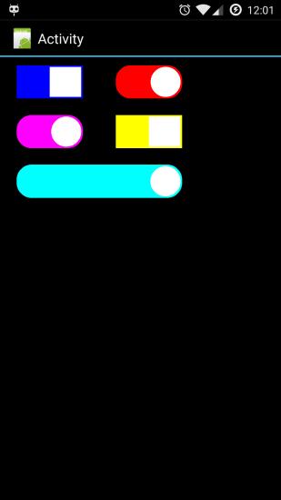 [滑动开关库]SlideSwitch V1.0.2 - 沉默蜂 - 沉默蜂B4A安卓编程实战资料